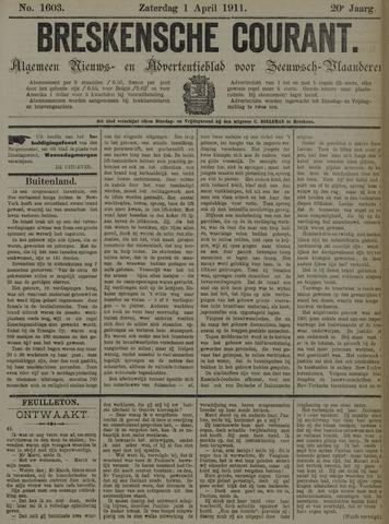Breskensche Courant 1911-04-01