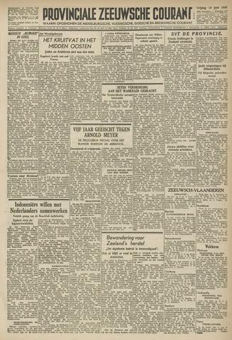 Provinciale Zeeuwse Courant 1946-06-14