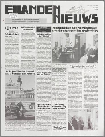 Eilanden-nieuws. Christelijk streekblad op gereformeerde grondslag 2004-11-02