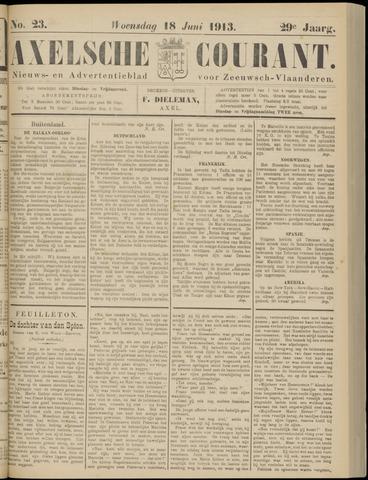 Axelsche Courant 1913-06-18