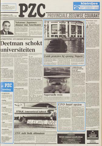 Provinciale Zeeuwse Courant 1986-09-24