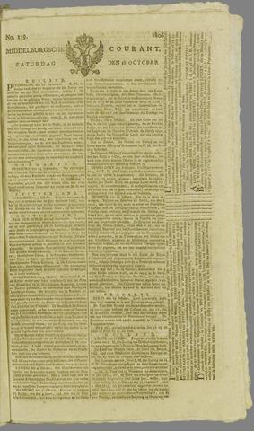 Middelburgsche Courant 1806-10-18