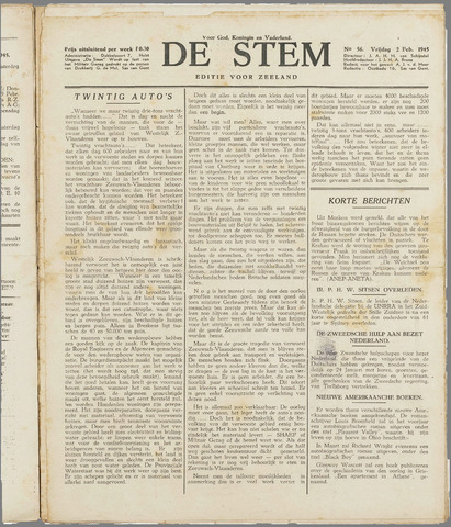 de Stem 1945-02-02