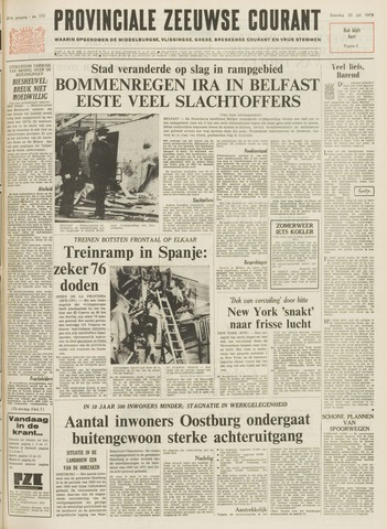 Provinciale Zeeuwse Courant 1972-07-22