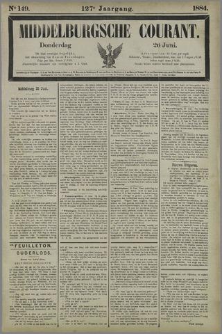 Middelburgsche Courant 1884-06-26