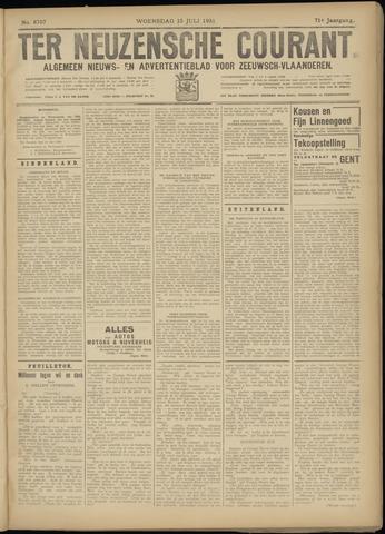 Ter Neuzensche Courant. Algemeen Nieuws- en Advertentieblad voor Zeeuwsch-Vlaanderen / Neuzensche Courant ... (idem) / (Algemeen) nieuws en advertentieblad voor Zeeuwsch-Vlaanderen 1931-07-15