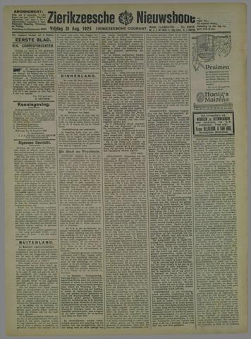 Zierikzeesche Nieuwsbode 1923-08-31