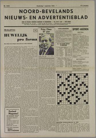 Noord-Bevelands Nieuws- en advertentieblad 1983-09-01