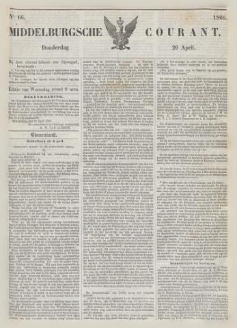 Middelburgsche Courant 1866-04-26