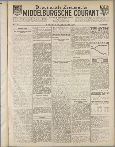 Middelburgsche Courant 1932-02-22