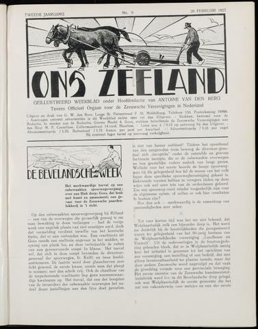 Ons Zeeland / Zeeuwsche editie 1927-02-26