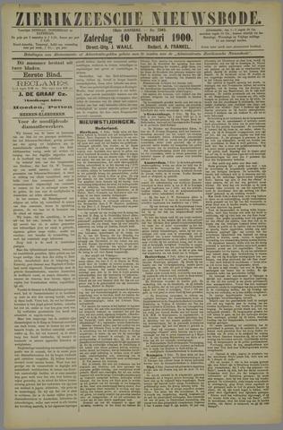 Zierikzeesche Nieuwsbode 1900-02-10