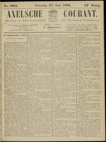 Axelsche Courant 1896-06-13