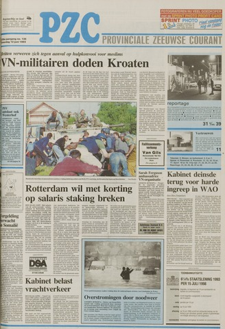 Provinciale Zeeuwse Courant 1993-06-12