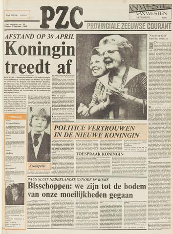 Provinciale Zeeuwse Courant 1980-02-01