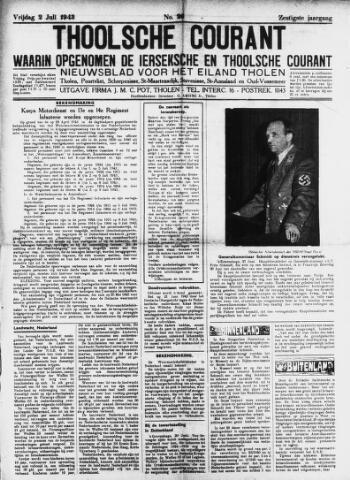 Ierseksche en Thoolsche Courant 1943-07-02