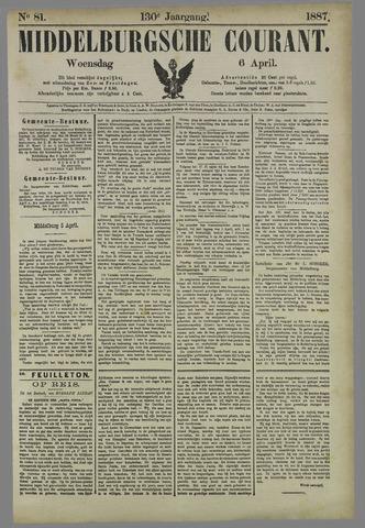 Middelburgsche Courant 1887-04-06