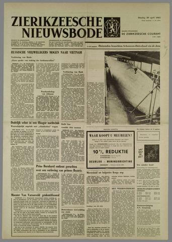 Zierikzeesche Nieuwsbode 1965-04-20