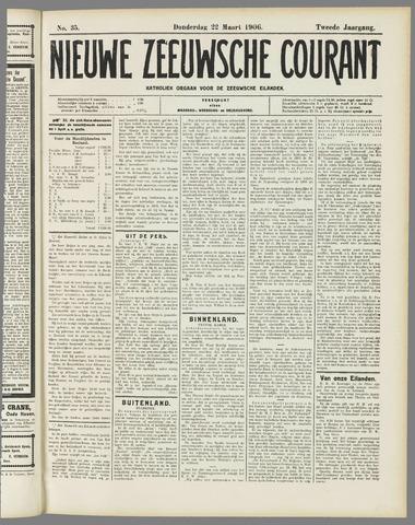 Nieuwe Zeeuwsche Courant 1906-03-22