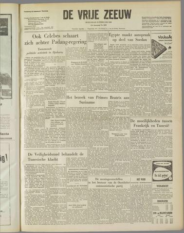 de Vrije Zeeuw 1958-02-19
