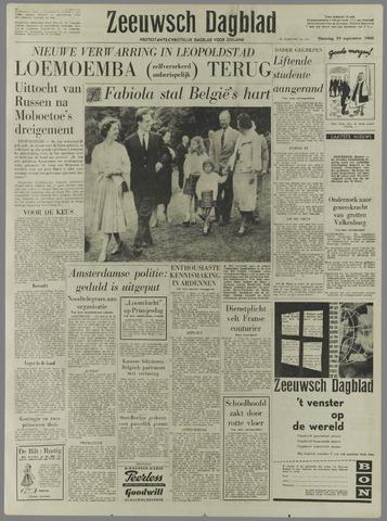 Zeeuwsch Dagblad 1960-09-19