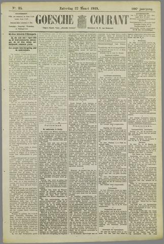 Goessche Courant 1919-03-22