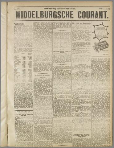 Middelburgsche Courant 1922-10-12