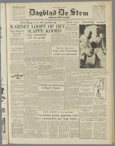 de Stem 1958-12-11