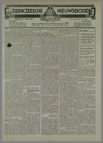 Zierikzeesche Nieuwsbode 1941-05-27