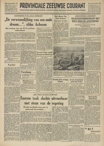 Provinciale Zeeuwse Courant 1952-05-28