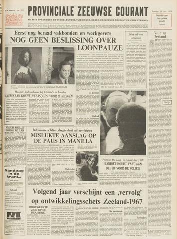 Provinciale Zeeuwse Courant 1970-11-28
