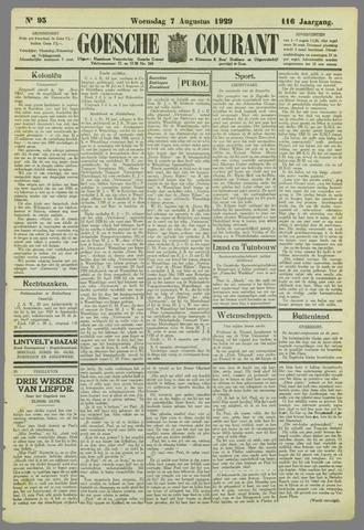 Goessche Courant 1929-08-07