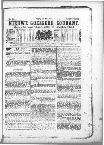 Nieuwe Goessche Courant 1874-05-22