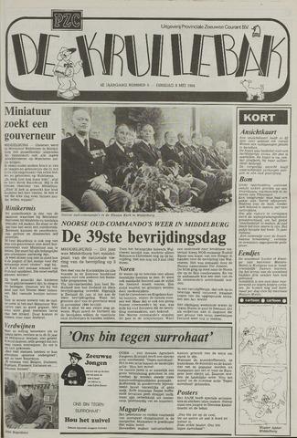 Provinciale Zeeuwse Courant katern Krullenbak (1981-1999) 1984-05-08