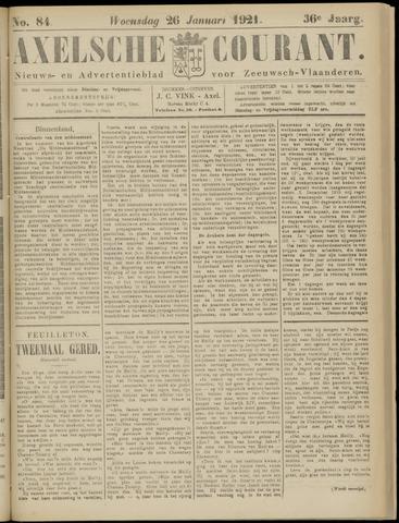 Axelsche Courant 1921-01-26