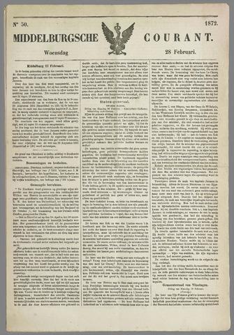 Middelburgsche Courant 1872-02-28