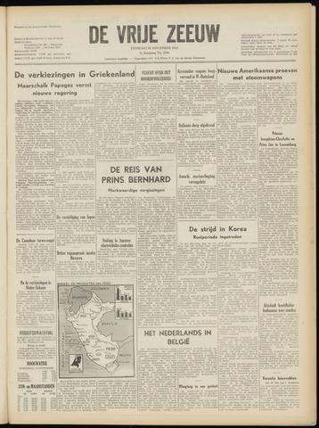 de Vrije Zeeuw 1952-11-18