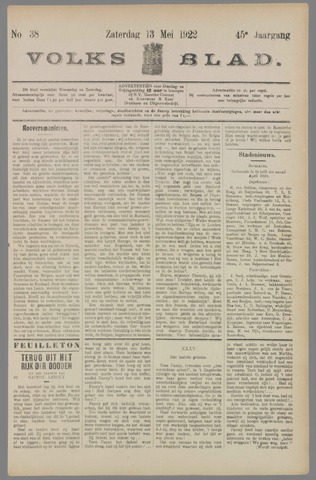 Volksblad 1922-05-13