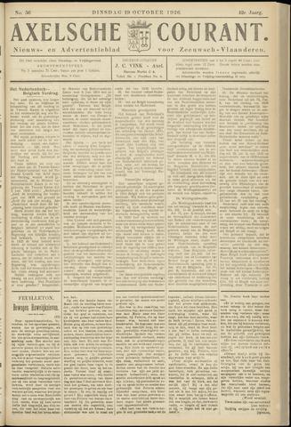Axelsche Courant 1926-10-19