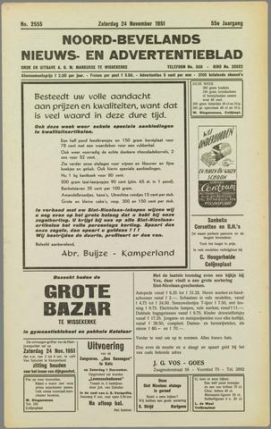 Noord-Bevelands Nieuws- en advertentieblad 1951-11-24