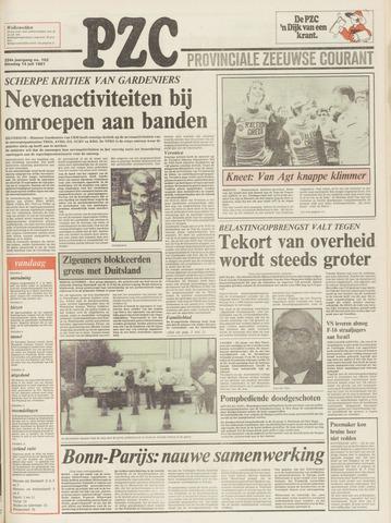 Provinciale Zeeuwse Courant 1981-07-14
