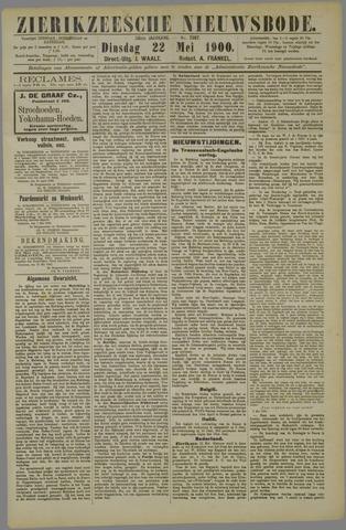 Zierikzeesche Nieuwsbode 1900-05-22