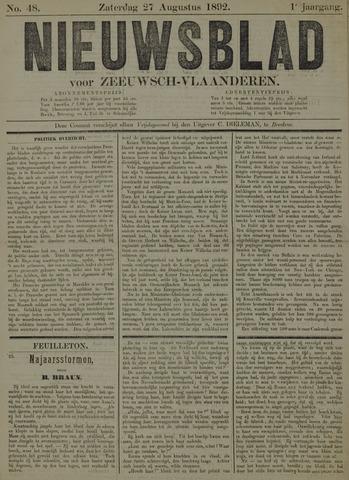 Nieuwsblad voor Zeeuwsch-Vlaanderen 1892-08-27