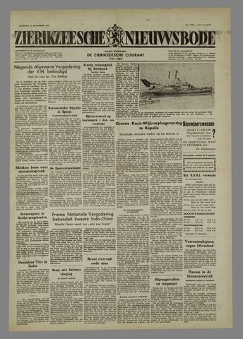 Zierikzeesche Nieuwsbode 1954-12-21