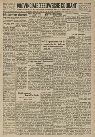 Provinciale Zeeuwse Courant 1945-12-22