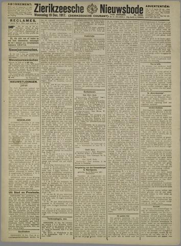 Zierikzeesche Nieuwsbode 1917-12-19