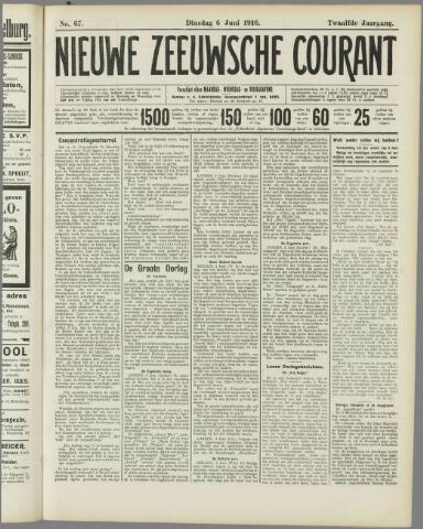 Nieuwe Zeeuwsche Courant 1916-06-06