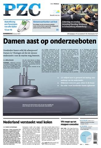 Provinciale Zeeuwse Courant 2015-01-22