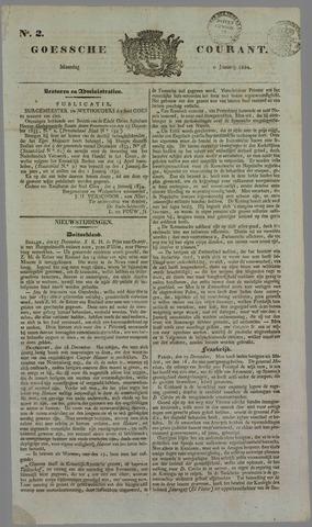 Goessche Courant 1834-01-06