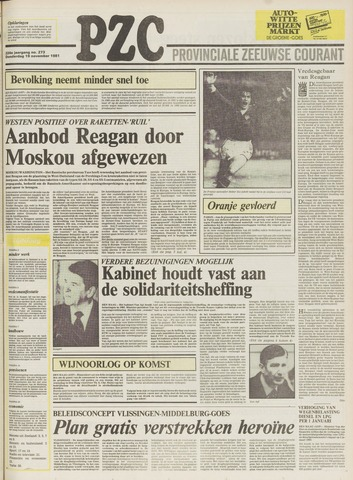 Provinciale Zeeuwse Courant 1981-11-19